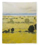Dry Grass Fleece Blanket