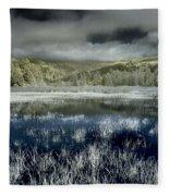 Dry Lagoon Winter Fleece Blanket