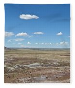Dry Riverbed Fleece Blanket