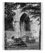 Dryburgh Abbey, 1866 Fleece Blanket