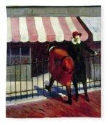 Du Bois Shops, 1922 Fleece Blanket