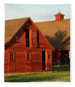 Dual Barns-3811 Fleece Blanket