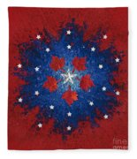 Dual Citizenship 2 Fleece Blanket