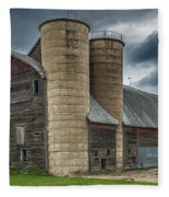 Dual Silos Fleece Blanket