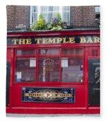 Dublin Ireland - The Temple Bar Fleece Blanket