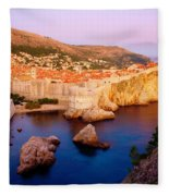 Dubrovnik Fleece Blanket
