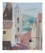 Dubrovnik Croatia Fleece Blanket