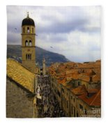 Dubrovnik - Old City Fleece Blanket