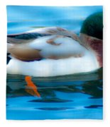 Duck Glide Fleece Blanket
