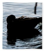 Duck Waves Fleece Blanket