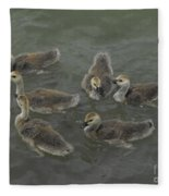 Ducklings Fleece Blanket