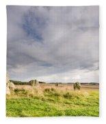Duddo Stone Circle Fleece Blanket