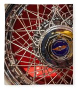 Duesenberg Wheel Fleece Blanket