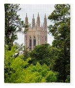 Duke Chapel Fleece Blanket