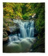Dukes Creek Falls Fleece Blanket