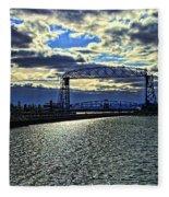 Duluth Lift Bridge Fleece Blanket