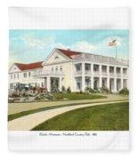 Duluth Minnesota - Northland Country Club - 1915 Fleece Blanket