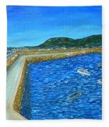 Dun Laoghaire Fleece Blanket
