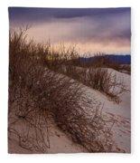 Dune Grass Fleece Blanket