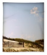 Dune Grasses Fleece Blanket