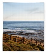 Dune Steps 01 Fleece Blanket