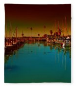 Dunedin Marina Fleece Blanket
