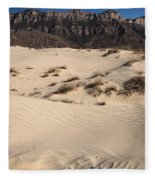 Dunes At The Guadalupes Fleece Blanket