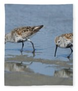 Dunlins Fleece Blanket