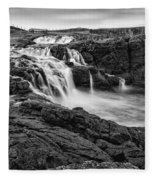 Dunseverick Waterfall Fleece Blanket