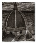 Duomo Dalla Campanile  Fleece Blanket