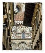 Duomo In Firenze Fleece Blanket