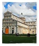 Duomo Of Field Of Dreams Fleece Blanket
