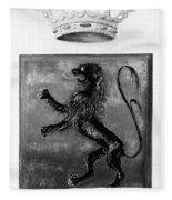 Duquesne Coat Of Arms Fleece Blanket