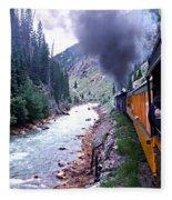 Durango To Silverton Fleece Blanket