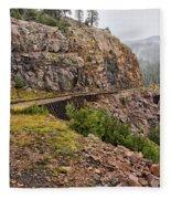 Durango Train To Silverton Dsc07599 Fleece Blanket