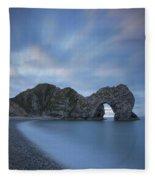 Durdle Door Colors Fleece Blanket