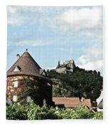 Durnstein Castle Fleece Blanket