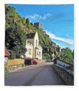 Durnstein Village Fleece Blanket
