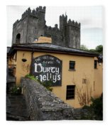 Durty Nellys And Bunraty Castle Fleece Blanket