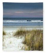 Dusk In The Dunes Fleece Blanket