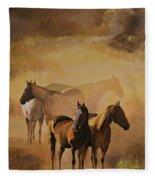 Dust Bowl Fleece Blanket