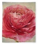 Dusty Pink Fleece Blanket