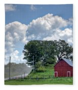 Dusty Road Fleece Blanket