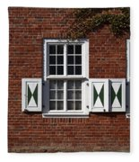 Dutch Neighborhood In Potsdam Fleece Blanket