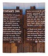 Dutchman's Inn Fleece Blanket