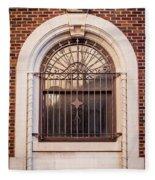Dwyer Street Window Fleece Blanket