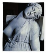 Dying Lucretia  Fleece Blanket