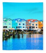 E Sea Living Fleece Blanket