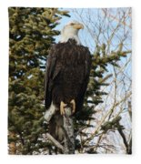 Eagle 3 Fleece Blanket