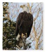 Eagle 5 Fleece Blanket